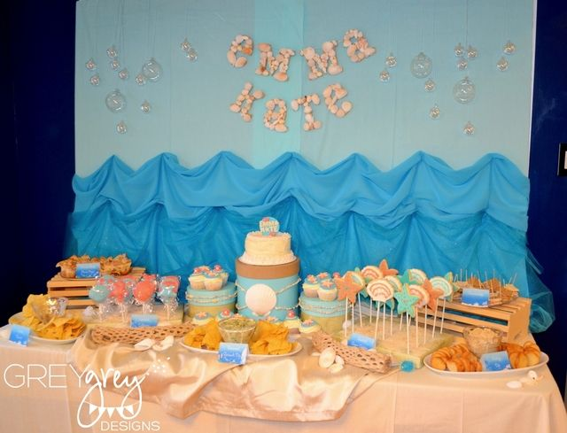 69 Best Images About First Birthday Beach Party Ideas On