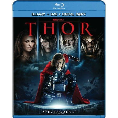 Amazon.com: Thor (Two-Disc Blu-ray/DVD Combo + Digital Copy): Chris Hemsworth, Natalie Portman, Tom Hiddleston, Anthony Hopkins, Stellan Skarsgard, Kat Dennings, Clark Gregg, Idris Elba, Kenneth Branagh: Movies & TV