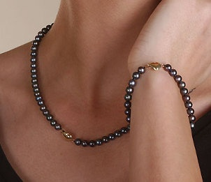 How to Select Black Pearls #jewelry