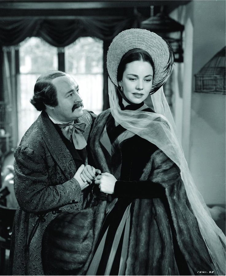 Beautiful Jennifer Jones in, 'Madame Bovary' directed by Vincente Minnelli.