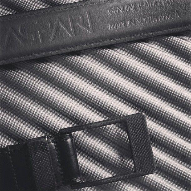 #blackwhite #KASPARI #carbon fiber buckle leather belt