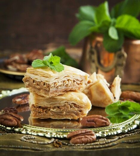 Baklava. U should try it! Gastronomy tourism with 1000 Colours