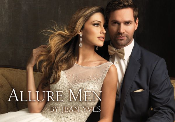 Slate Allure Men by Jean Yves www.JeanYves.com www.AllureBridals.com