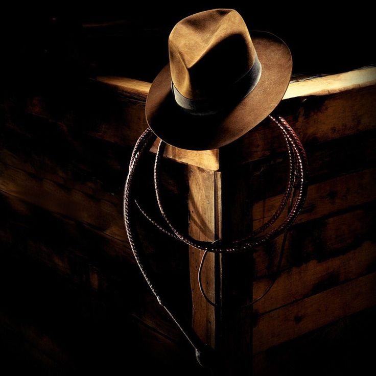 Indiana Jones Fedora Crate IPad Wallpaper