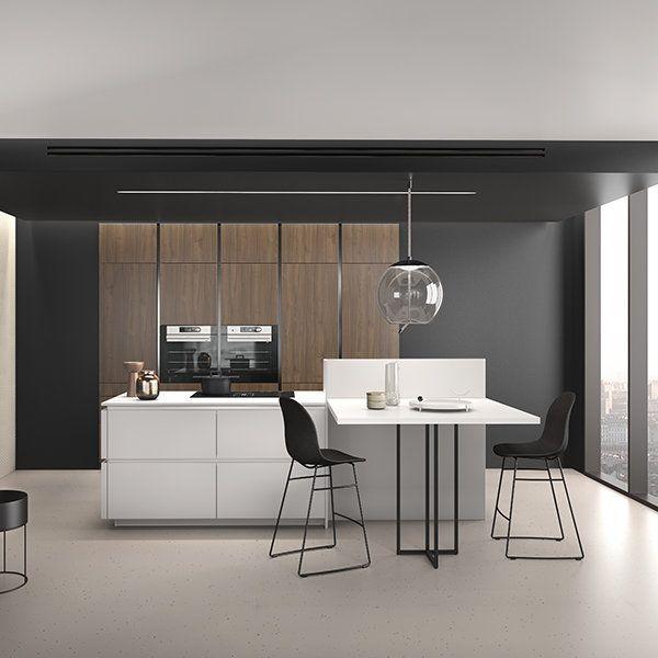 Ambiance Esthete En 2020 Cuisine Moderne Mobilier De Salon Cuisines Design