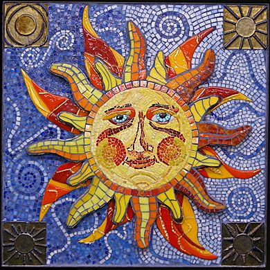 7 Best Images About Sun And Moon Mosaics On Pinterest