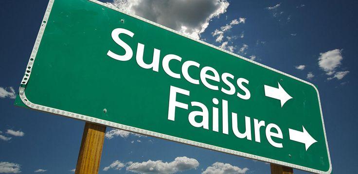 Il Fallimento è concepito generalmente come qualcosa di negativo: la paura di Fallire può portarci a paralizzare le nostre azioni