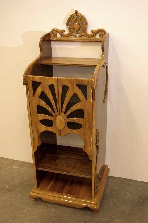 Wood Carving speaker
