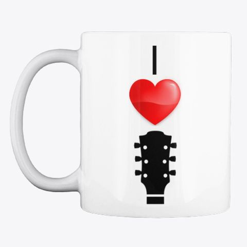 Here Music Mug Guitar I Love PersonalizedBuy With OPZXiuTk