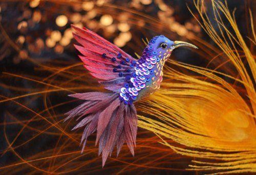 Райские птицы Юлии Гориной (33 фото)