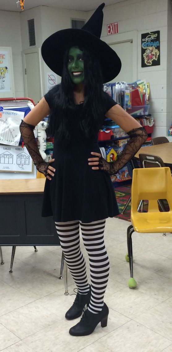 Fall festival at our school!!! Wicked Witch!