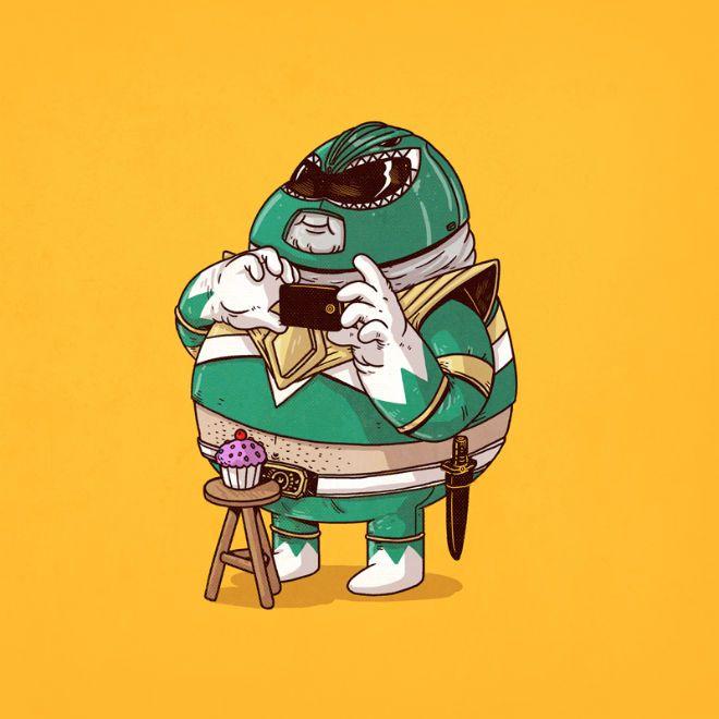 personajes gordos alex solis