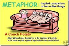 Metaphor Language Arts English Classroom LA NEW POSTER