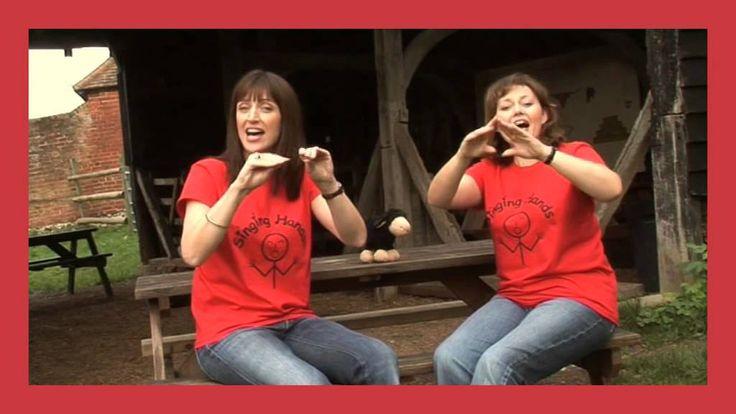 Singing Hands: Baa Baa black sheep - Makaton Sign Language