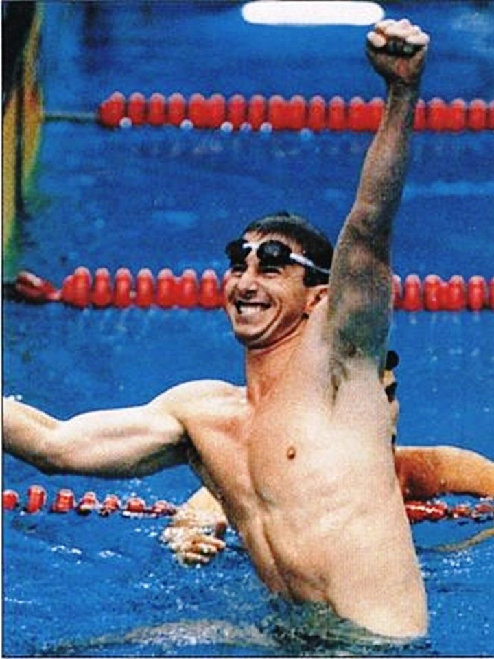 Duncan Armstrong swam for Australia at the 1988 Summer Olympics to win a gold medal in the 200 metres freestyle in world record time and silver medal in the 400 metres freestyle