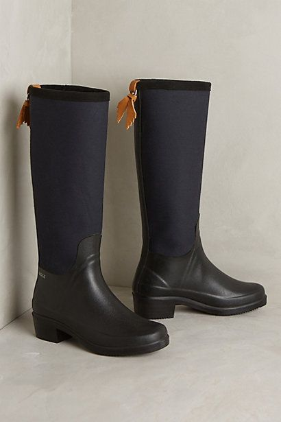 Aigle Miss Juliette Wellies #anthropologie