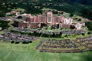 """Tripler Army Medical Center - TAMC - Pearl City, Hawaii """"The Pink Palace"""" This is where my mommy worked!"""