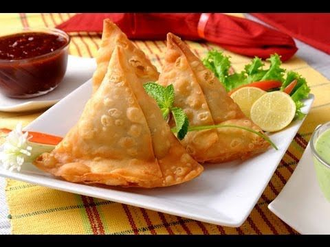 Authentic recipe of Punjabi Samosa  http://www.facebook.com/ChefSanjeevKapoor  http://twitter.com/#!/khanakhazana    LINK TO OUR TOP 10 RECIPE VIDEOS  Chilli Chicken      http://www.youtube.com/watch?v=uZnHF_ImXBE=relmfu  Hyderabadi Chicken Biryani    http://www.youtube.com/watch?v=7HI1D6sti3g=relmfu  Indian Butter Chicken (Murgh Makhan...