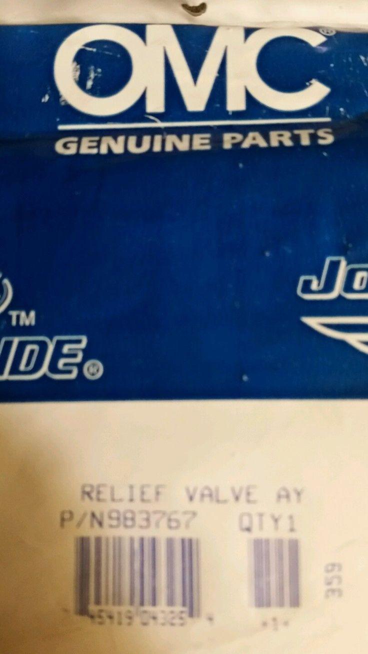 JOHNSON EVINRUDE BRP OUTBOARD POWER TRIM VALVE 983767