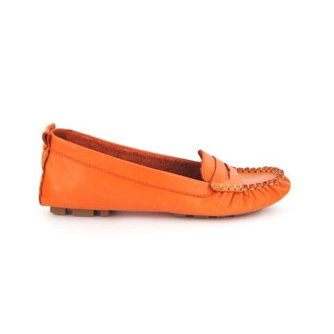 Colour popping orange Zensu Suzie #colour #trend #shoes