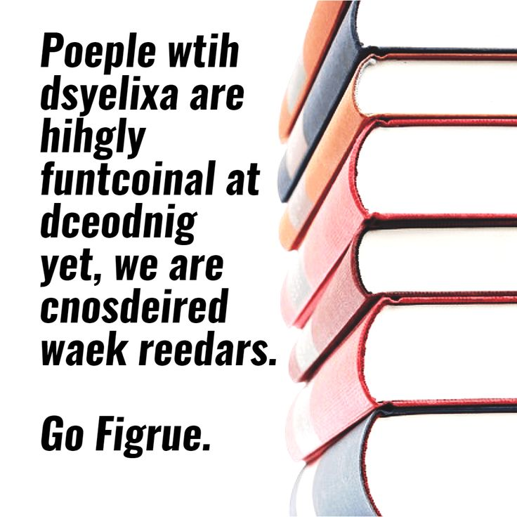 dyslexic readers - Design in seconds with @PixTeller