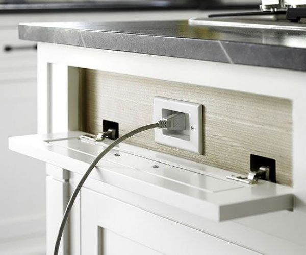 44 best Kitchen - Outlet Placement images on Pinterest | Kitchens ...