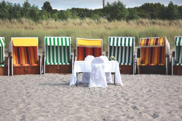 Hochzeit feiern mit Blick auf die Ostsee – Hotel Der Fischländer
