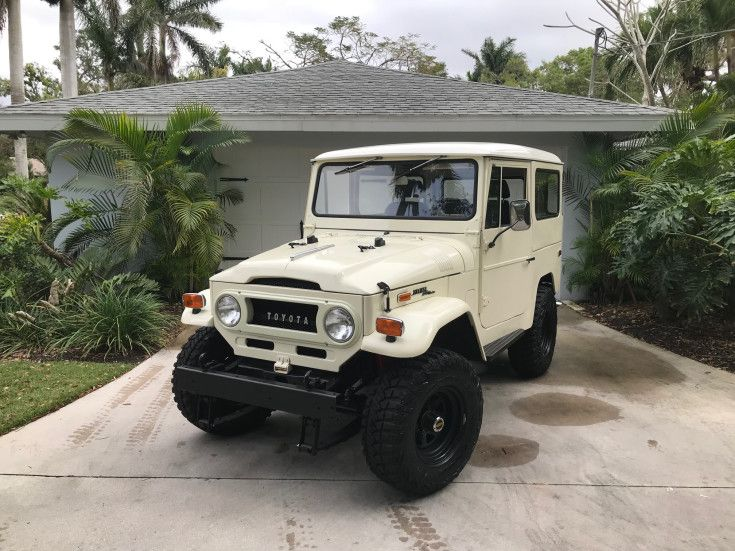 1970 Toyota Land Cruiser For Sale Near Fort Myers Florida 33901