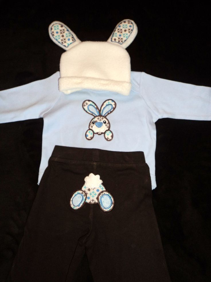 Cute !st Easter Outfit made for Baby Shower