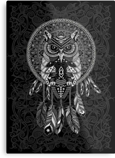 1000 ideas about owl dream catcher on pinterest catcher dream catchers and large dream catcher. Black Bedroom Furniture Sets. Home Design Ideas