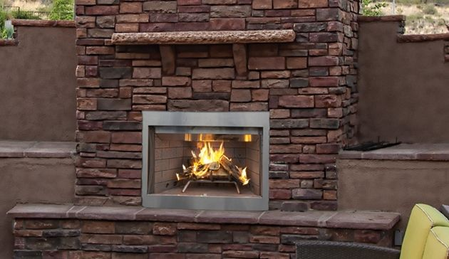 Superior Outdoor Wood Fireplace Wre3000 Wre3036 Wre3042