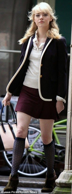 Gwen Stacy style from The Amazing Spiderman 2