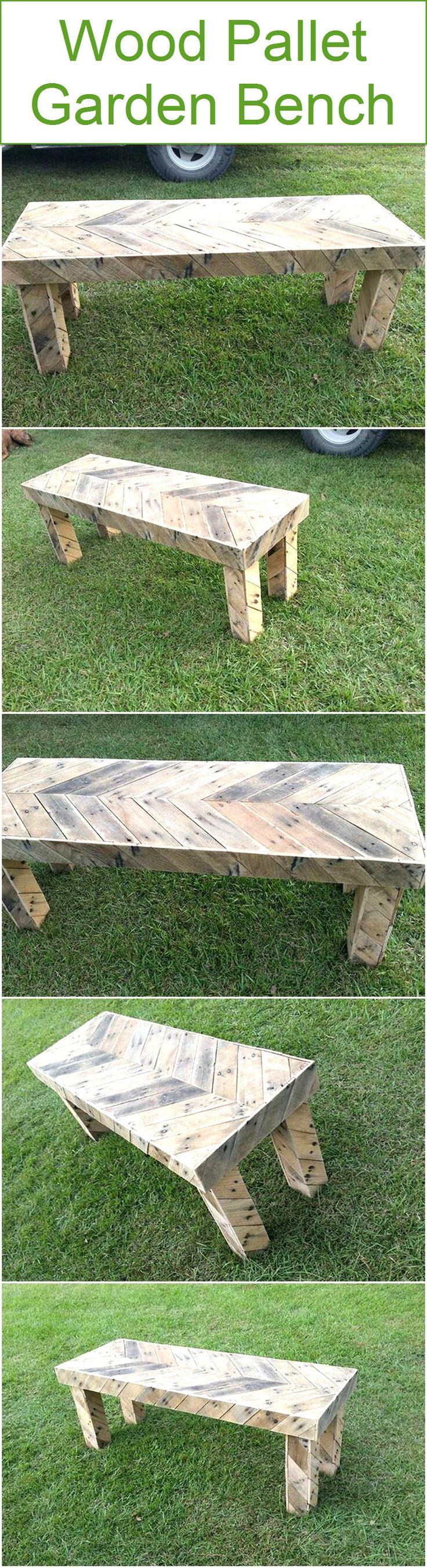 Best 20+ Pallet garden benches ideas on Pinterest | Pallet ...