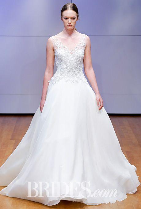 Ball gown with crystal bodice Rivini by Rita Vinieris Wedding Dress - Fall 2016 - Brides.com