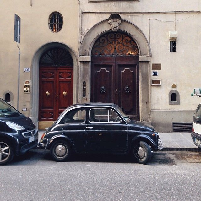 I must have an old Fiat 500 (at Firenze)