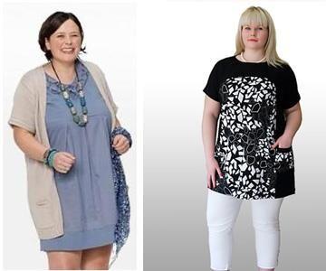 Мода для полных джинсы 2012г