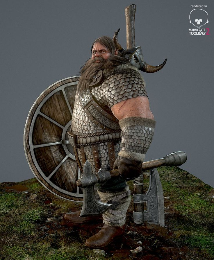 Viking Game Character, Ray Thuc Le on ArtStation at