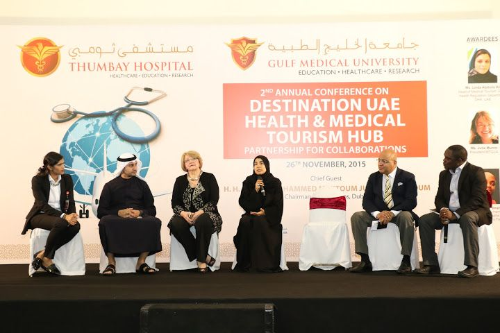 Thumbay Hospital Dubai Hosts 2nd Annual Medical Tourism Conference The second annual Medical Tourism Conference was held on Thursday, 26thNovember 2015 at Thumbay Hospital, Dubai, in collaboration ... #middleeastbusinessevent #middleeasteconomy