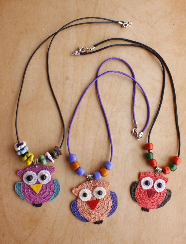 Owl Necklaces (Available in different colors) ON02