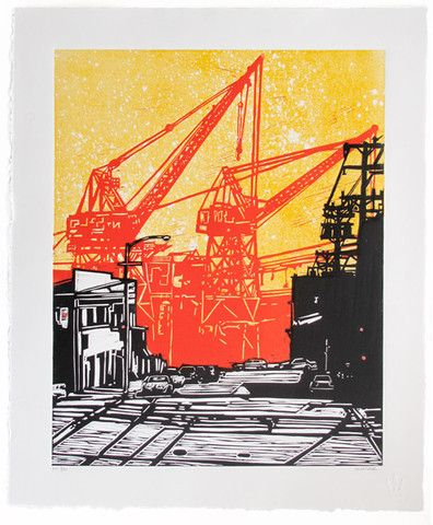 another great print from Eric Rewitzer dogpatch print