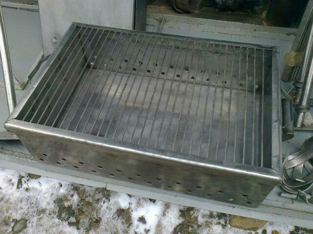 BBQ coal tray