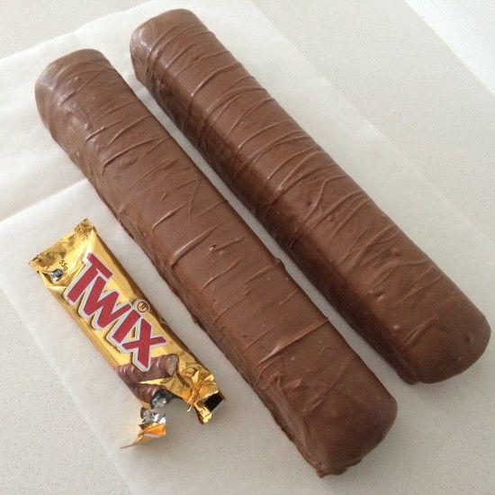 giant twix bar recipe by Ann Reardon
