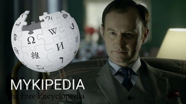 I remember when Sherlock told Mycroft he is Wikipedia...