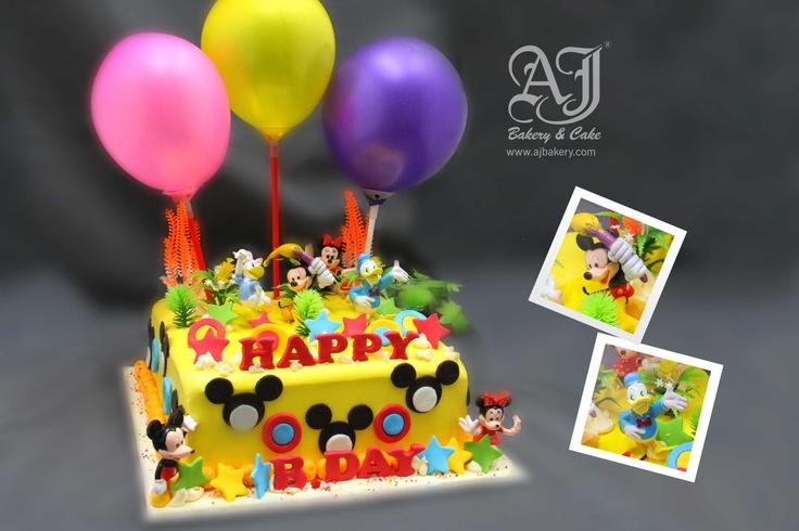 Disney Cake , Jakarta, Indonesia