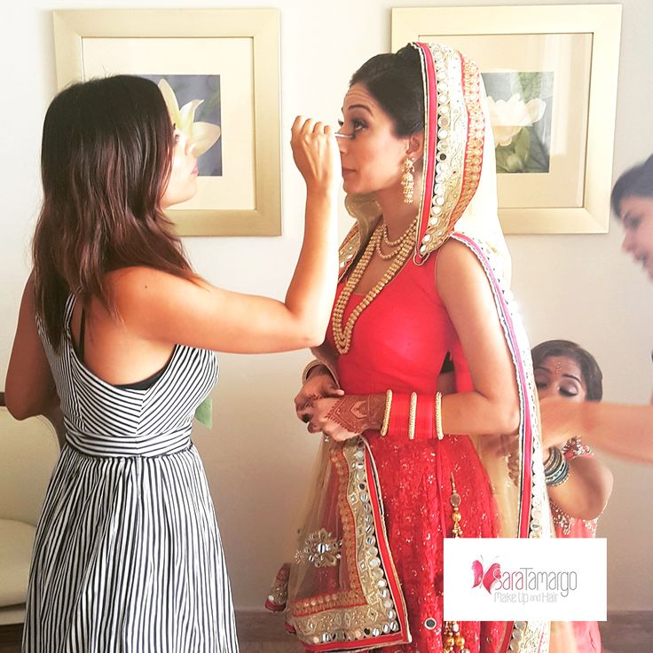 Makeup artist for indian weddings, indian brides, hindu brides, cancun