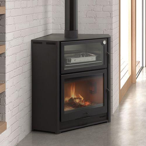 hergom laredo wood burning corner cooking stove