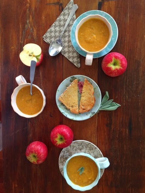 Domestic Deborah: Butternut Squash Soup with Apple, Sage and Bacon