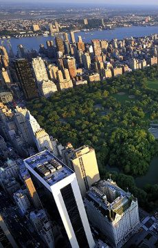 Unbeatable view from Central Park South Place, a luxury New York villa