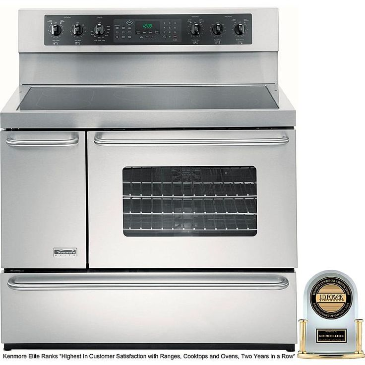 Kenmore Elite 99613 5 4 Cu Ft Double Oven Electric
