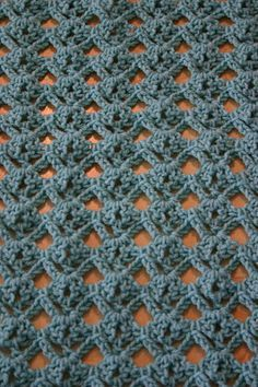 Really like this pattern...  Diamond Lace #Crochet #Stitch #Tutorial - Easy enough for beginners :)